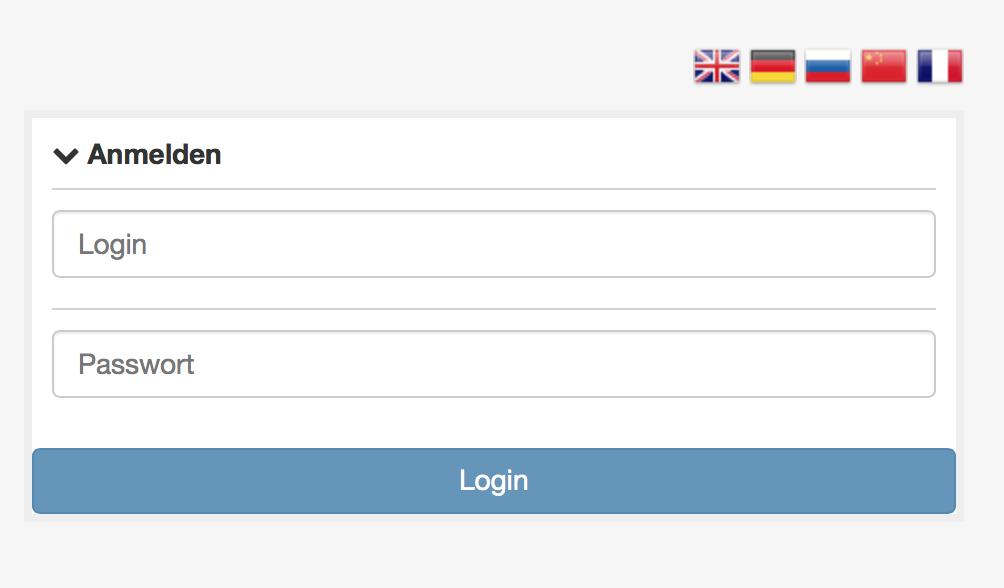 Z-Way-Server Login